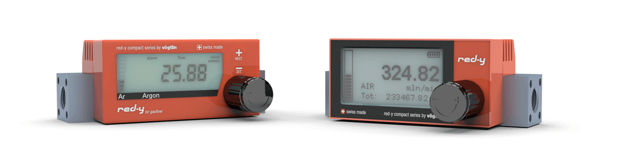 Digital Massflow Meters red-y compact series – Comparison of product version
