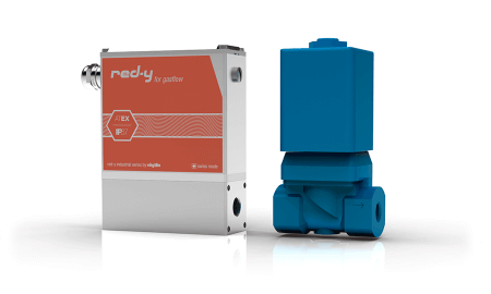 Mass Flow Meters & Controllers with IP67 & Ex Protection red-y industrial series