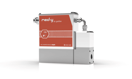 Mass Flow Controller with IP67 & Ex Protection red-y industrial controller