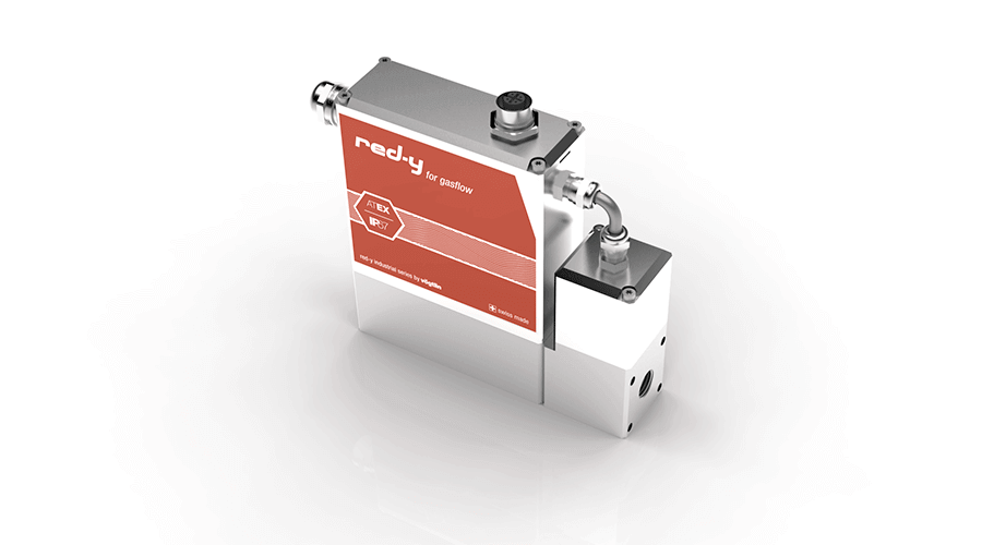 Mass Flow Controller with IP67 & Ex Protection red-y industrial controller with Profibus
