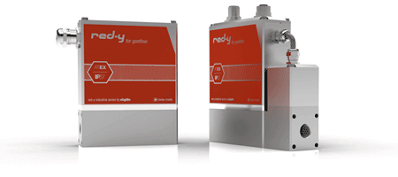 Mass Flow Meters & Controllers with IP67 Protection red-y industrial series