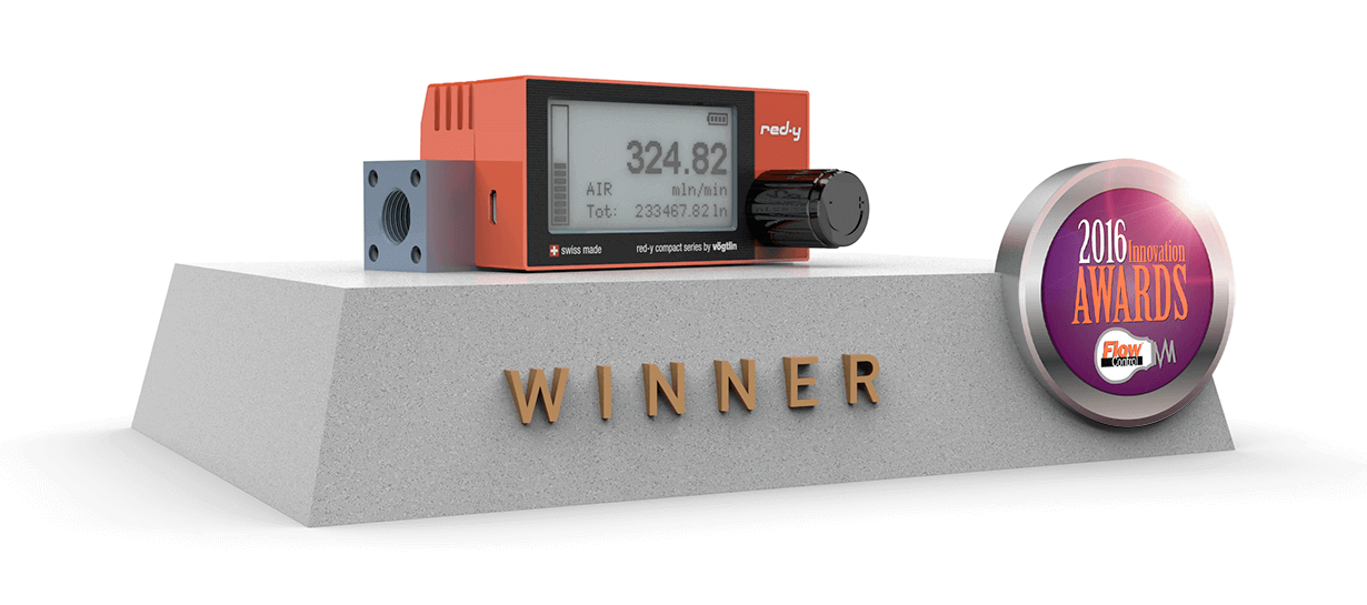 Vögtlin wins the Flow Control Innovation Award 2016